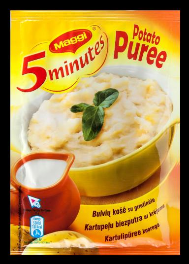 MAGGI 5minutes bulvių košė su grietinėle 35g