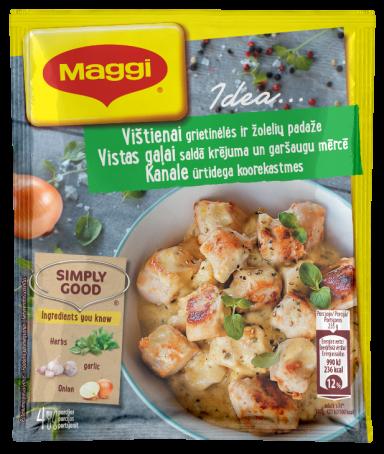 MAGGI®  IDEA... Mišinys vištienai su grietinėlės ir žolelių padažu 30g