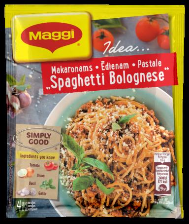 "Mišinys makaronams ''Spaghetti Bolognese"" 44g"