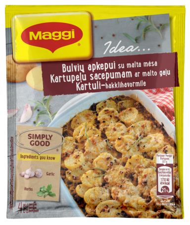 MAGGI IDEA.. Ruošinys bulvių apkepui su malta mėsa 42g