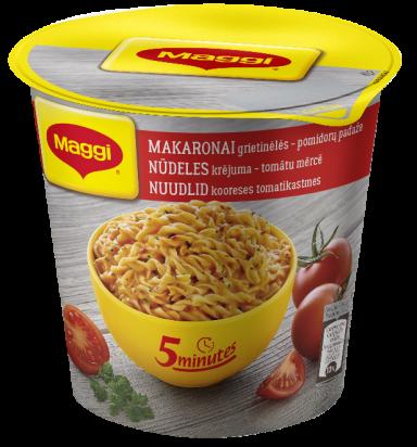 MAGGI 5minutes makaronai grietinėlės-pomidorų padaže 62g