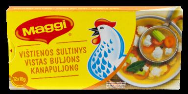 MAGGI® vištienos sultinys kubeliais (12x10g) 120g