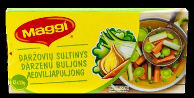 MAGGI® daržovių sultinys kubeliais (12x10g) 120g