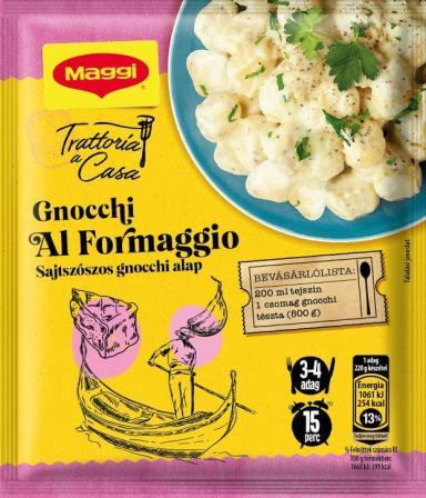 Padažas su sūriu gnocchi virtinukam